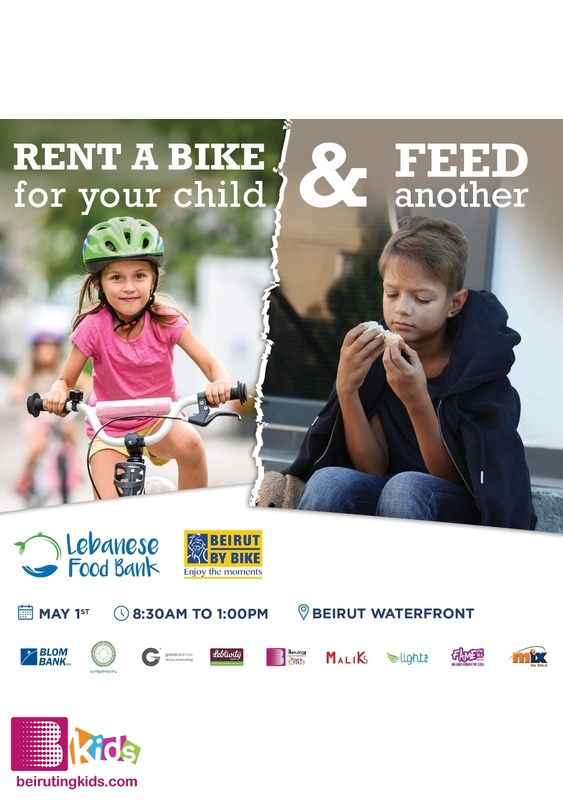 Activity Social Event  Rent a Bike for your child and feed another! Lebanon