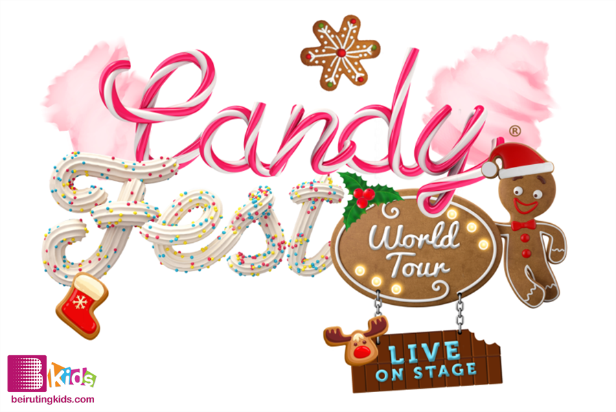 Activity Activities Candy Fest World Tour - Live on Stage  Lebanon