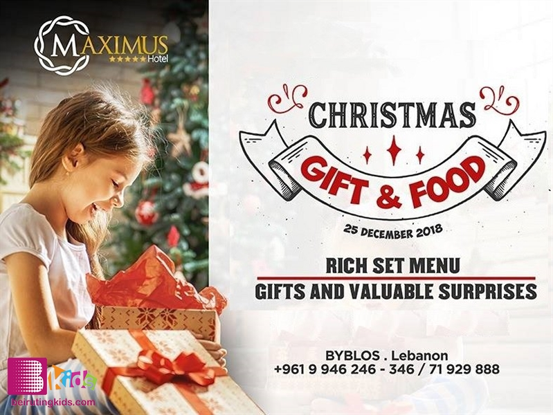 Activity Activities Christmas Gift and Food @ Le Gastronome  Lebanon