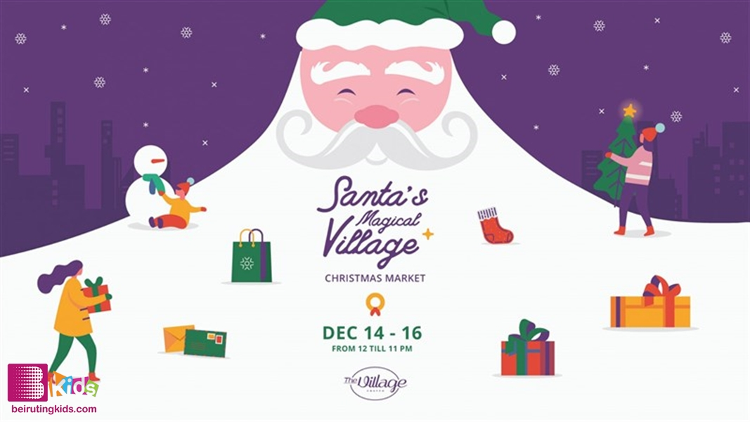 Activity Activities Santa's Magical Village: Christmas Market  Lebanon
