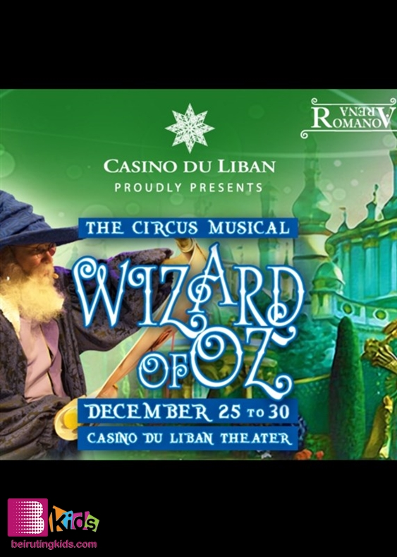 Activity Jbeil-Byblos Kids Shows Wizard Of Oz Lebanon