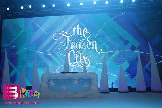 Activity Jbeil-Byblos Activities The Frozen City Ice World Tour Lebanon